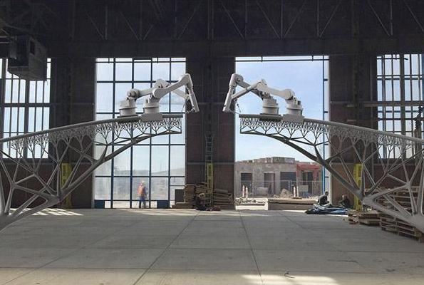 3D打印机造桥,能带来哪些好处?