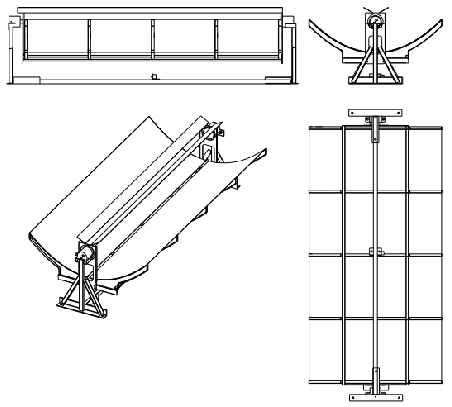光液之八--关键器件A:热电联产槽式聚光器