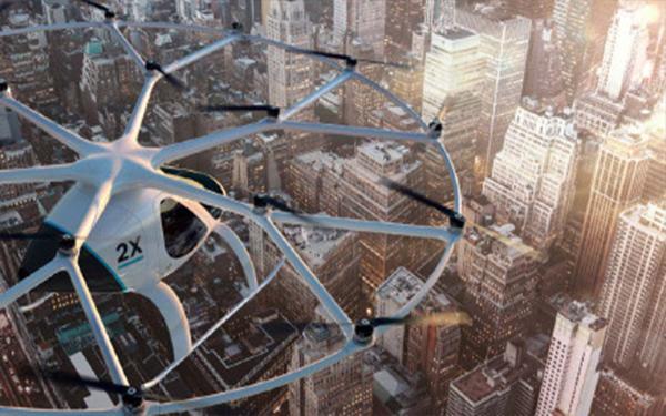 20年前科幻电影场景或成真 空中电动车行驶空间从X-Y轴突破至Z轴