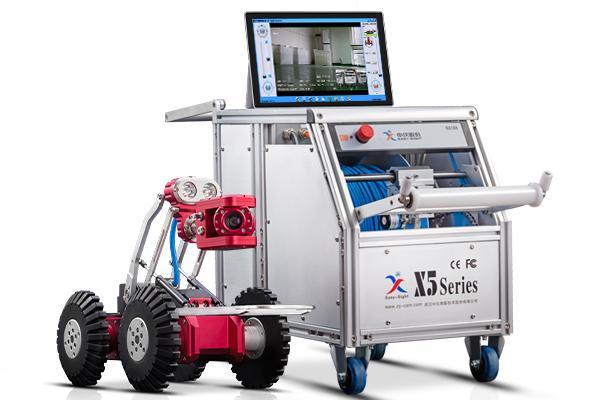 无线管道检测机器人主要组成和原理