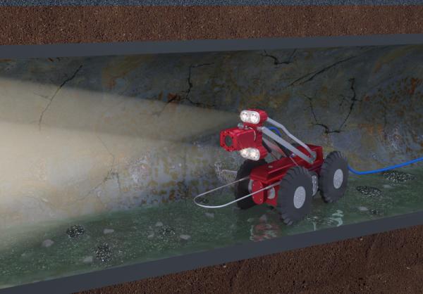 无线管道检测机器人主要组成和工作原理
