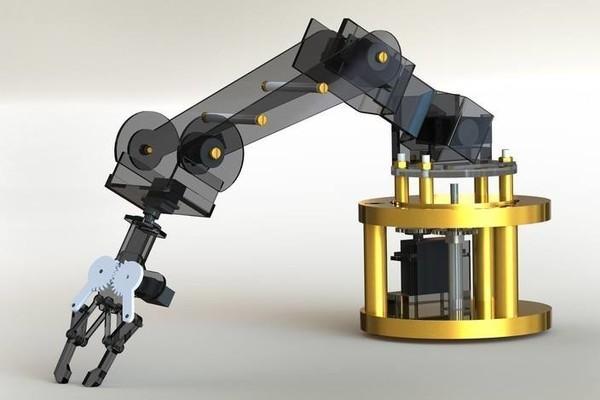 "3D打印机应用国外高等教育院校构建""折纸""机器人抓手"