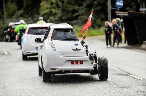 世界第一个为出租车提供无线充电的城市将实现