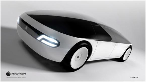 """电动(无人)汽车能成为苹果的""""新火车头""""吗?"""