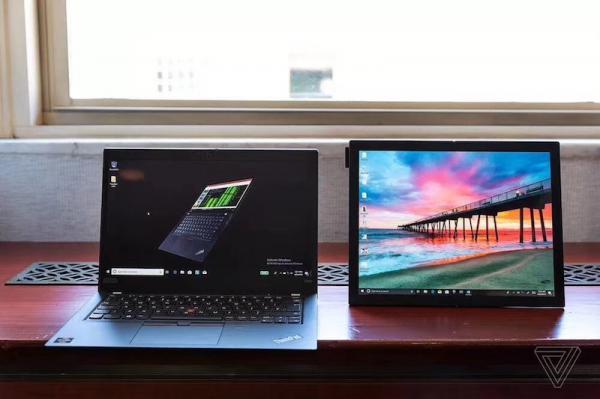全球首款!ThinkPad用折叠屏展示PC硬核哲学