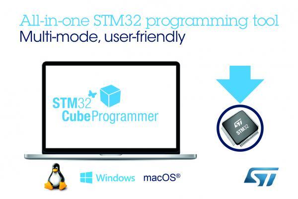 意法半导体发布最新的Multi-OS软件工具,简化STM32代码安装,保护固件知识产权