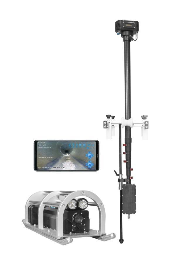 【再出新品】无线可视喷头助力管道养护与检测轻松联合