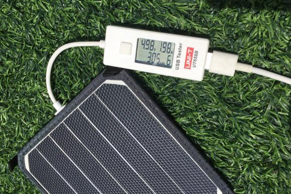 haogood轻便太阳能充电器,口袋里的随身发电站