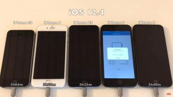 iOS 12.4耗电测试:电池续航大胜iOS 12.3.1?