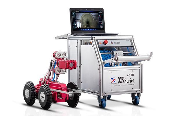 市政排水管道CCTV检测机器人的主要组成部分