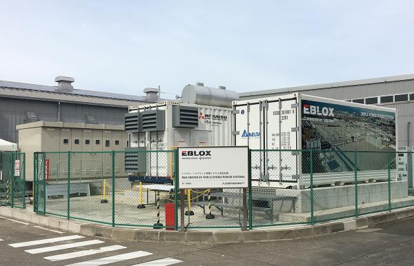 台达储能系统解决方案创新应用整合于MHIET三电源混合独立式电源系统