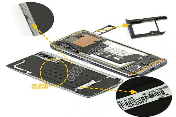 eWiseTech拆解:三星A70内部也真的毫无亮点吗?