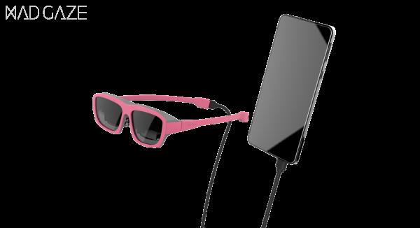没有MAD Gaze GLOW智能眼镜怎能一酷到底?