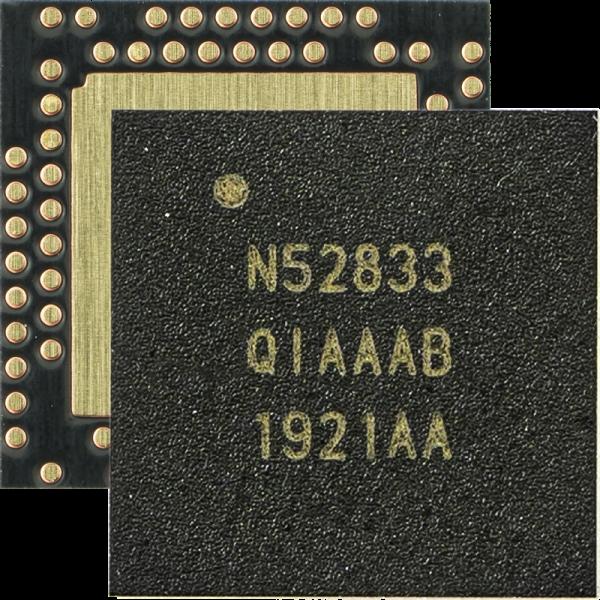 可用于105oC环境温度的Nordic蓝牙5.1 SoC能实现更广泛的并发多协议应用