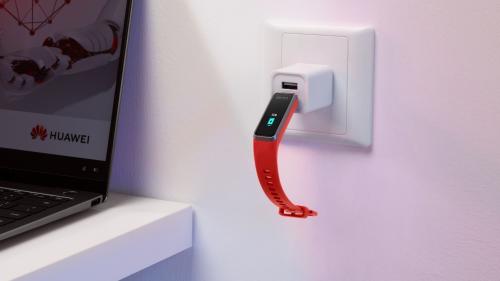 USB充电+血氧监测+精准心率,华为手环4上市,售价199元