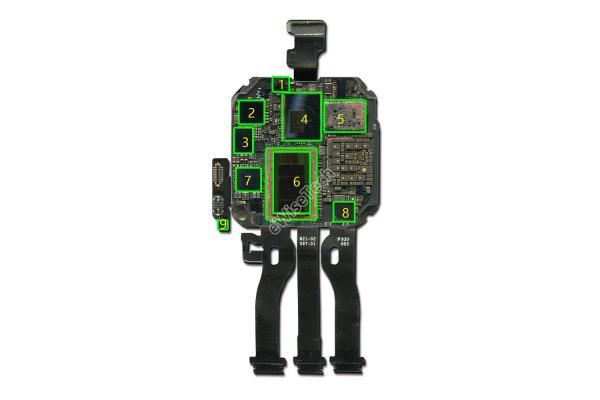 E拆解:今日揭秘Apple Watch Series5内部元器件信息