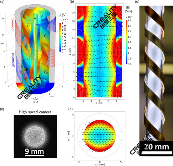 3D打印机技术用于创新等离子源体制造工艺