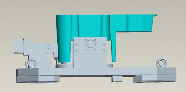 【夹具爱好者投稿】拔模角度工件的定位与夹持