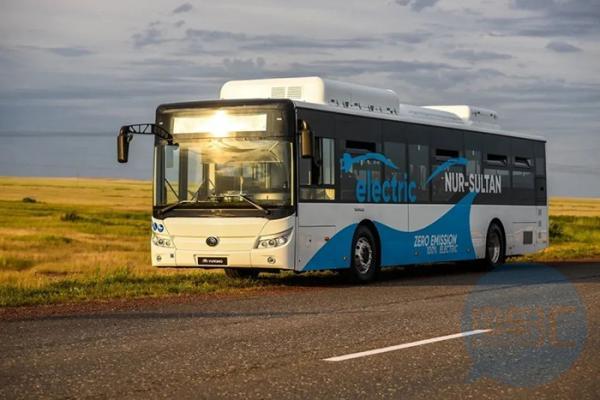 100辆宇通纯电动客车出口哈萨克斯坦
