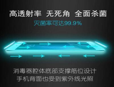 应用在手机消毒领域中的紫外线传感器