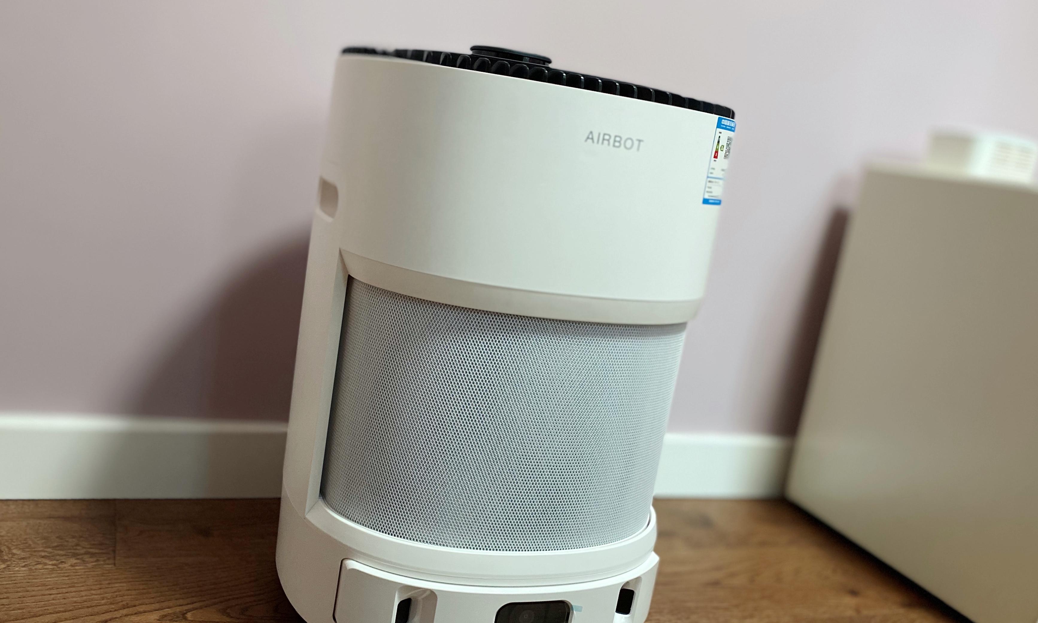 科沃斯空气净化机器人沁宝AIRBOT Andy体验:物联网时代的智能空气管家