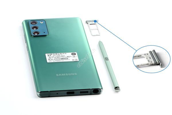 E拆解:关于三星 Galaxy Note 20,在拆解中我们发现了这些变化