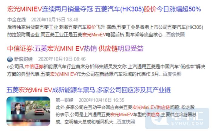 宏光MINIEV 11月销量再破销量记录!