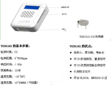 地下车库CO浓度监测专用传感器