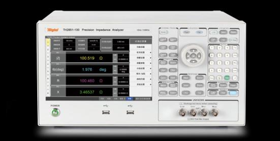 同惠电子发布130MHz精密阻抗分析仪 测试频率达130MHz