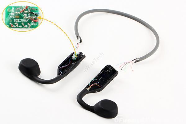 E拆解:韶音骨传导耳机虽然结构简单,但拆解不易