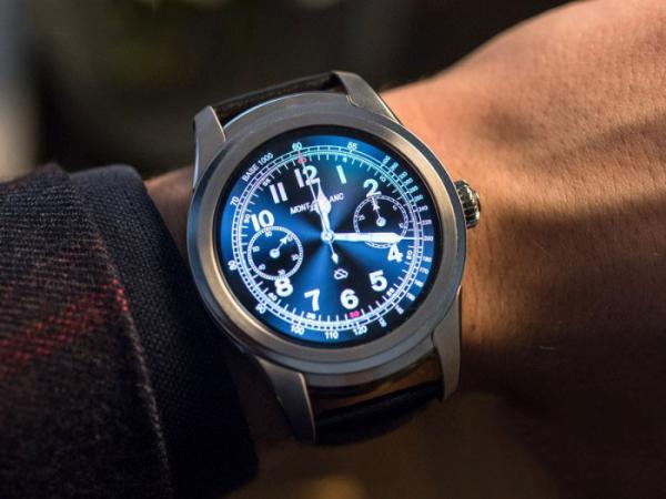 假若我是男人,砸锅卖铁也要带上一块万宝龙的智能手表