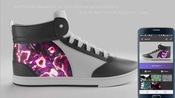 未来的运动鞋设计成这样?每天都能换图案,牛皮