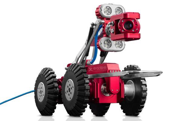 管道机器人取代人工下潜 又快又安全