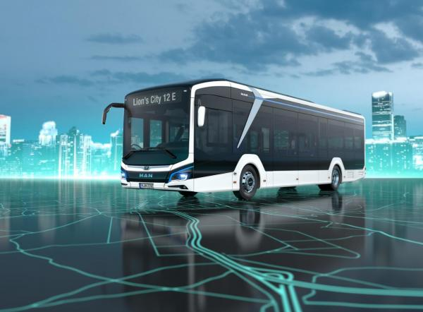 曼恩Lion's City eBus纯电动公交车