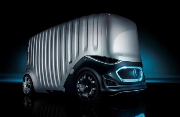 城市新物种:奔驰Vision URBANETIC概念车发布
