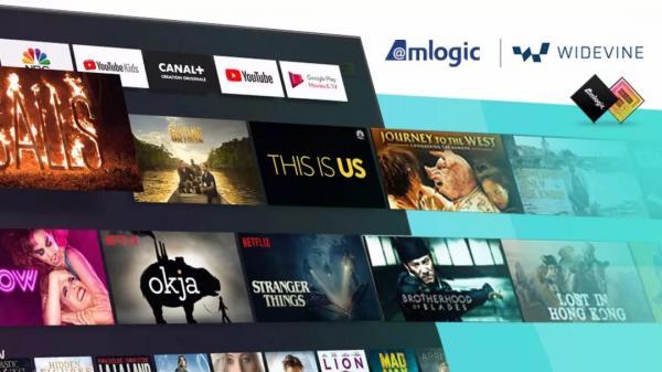晶晨半导体成功实现Widevine CAS在Android TV系统的集成