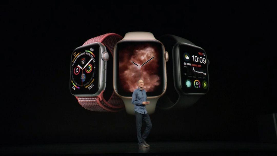 Apple Watch Series4,更美更快更实用!