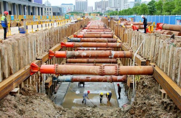 黄冈城区地下综合管廊工程项目建设