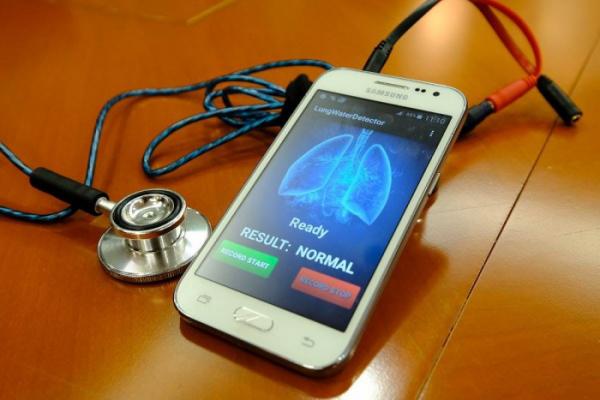 接触式听诊器式传声器CM-01B用于诊断充血性心衰