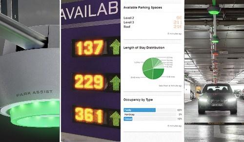 传感器技术在国外机场智慧停车领域的新应用