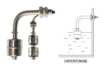 一种测定汽车防冻液液位的传感器