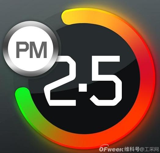 颗粒物浓度传感器用于检测PM2.5颗粒物与雾霾