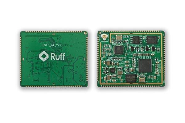 Ruff 推出百元以内AIoT人脸识别模组终端