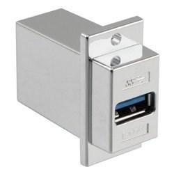 L-com诺通推出新型USB 3.0 ECF系列面板安装转接头/耦合器