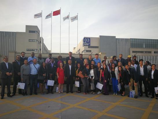 17国经贸代表团赴宁考察 东方日升一带一路成果获肯定