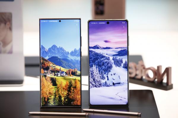都是iPhone12衬托得好,三星Galaxy Note20顶级屏幕真香