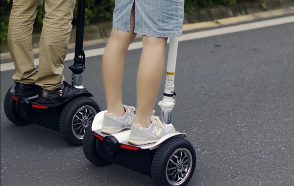 骑行骑客智能平衡车