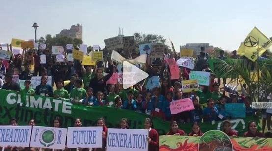 瑞典女孩气候大会怒斥参会者 应对气候变化需凝聚共识