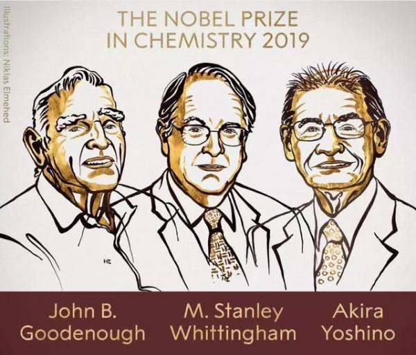 诺贝尔化学奖颁布 他们延长了整个世界的续航