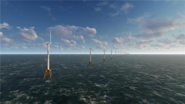 """广东海上""""大风机""""并网发电 系国内最大单体海上风电"""
